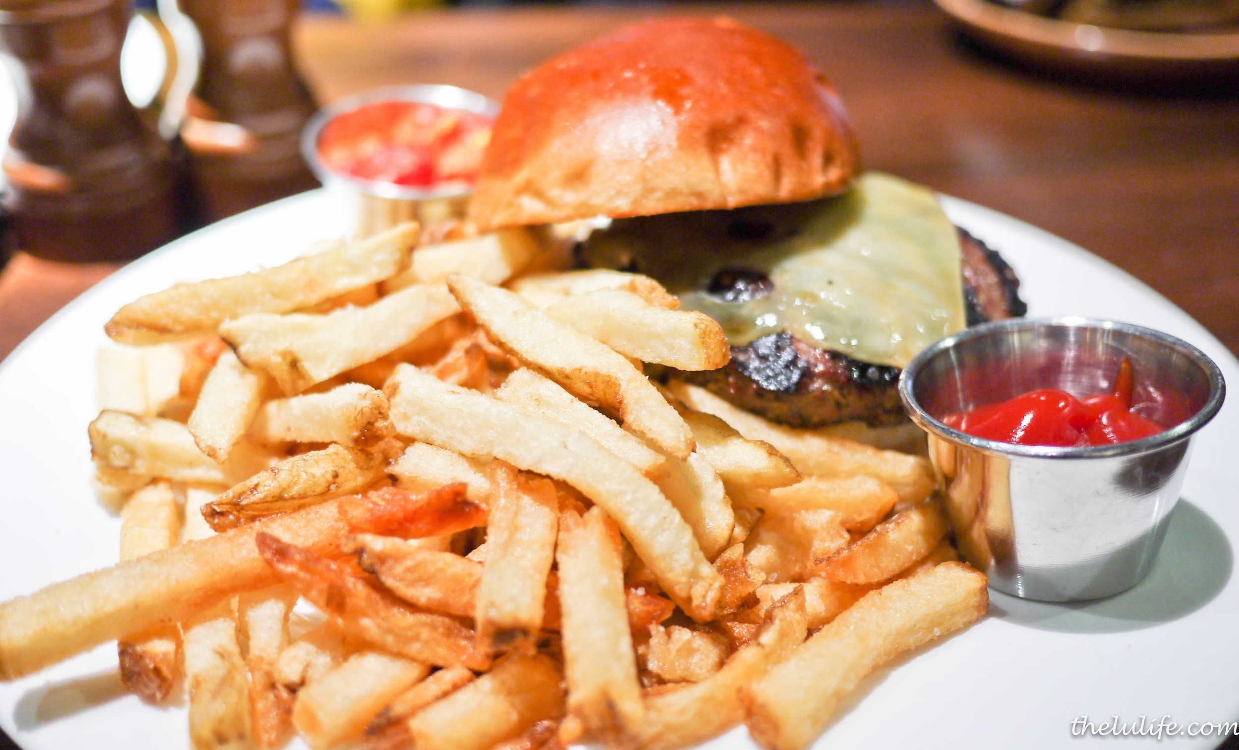 Prime burger - whole grain toast or classic bun, kennebec fries, house-made giardiniera, choice of aged white cheddar, wisconsin swiss or havarti