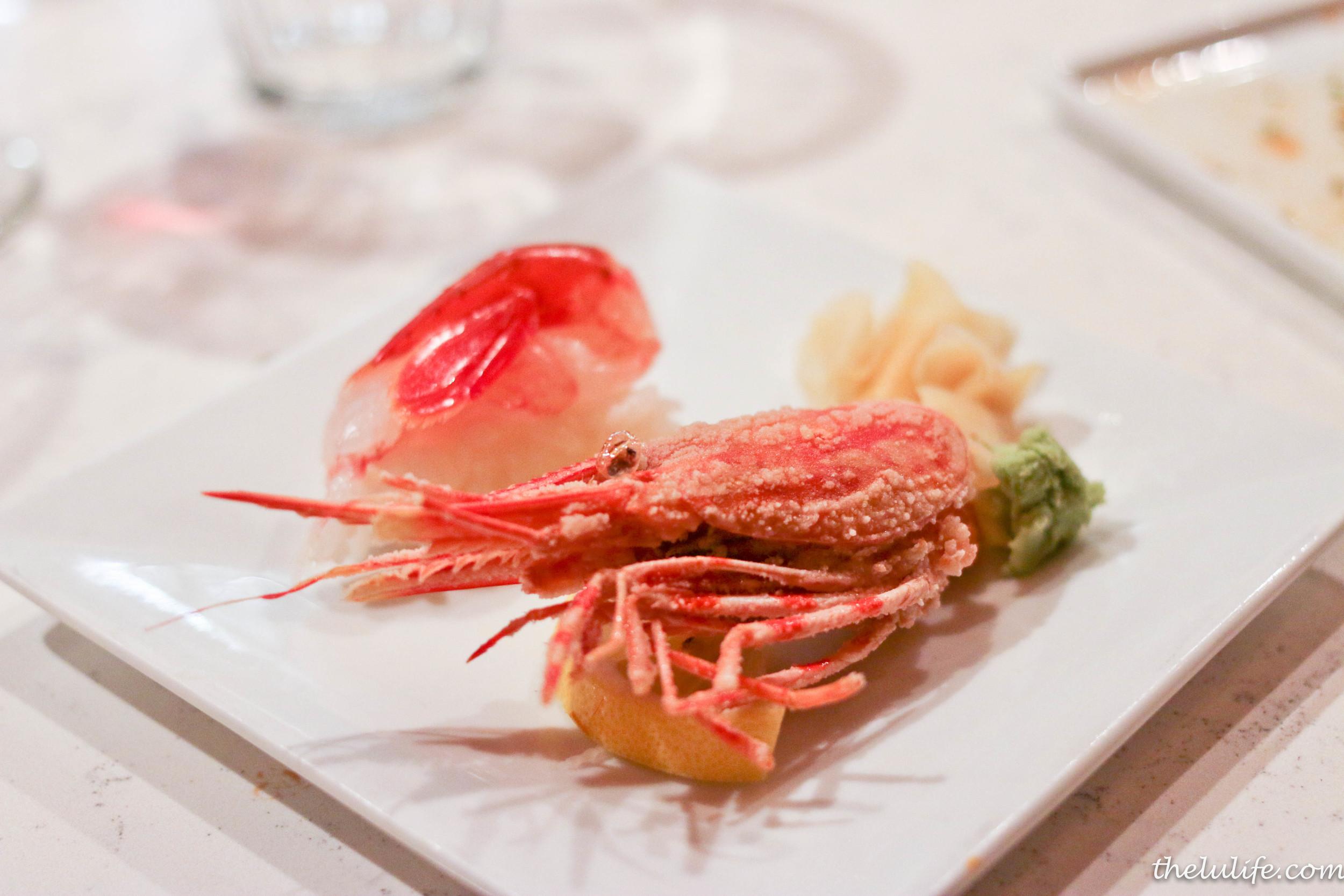 Amaebi - Sweet shrimp
