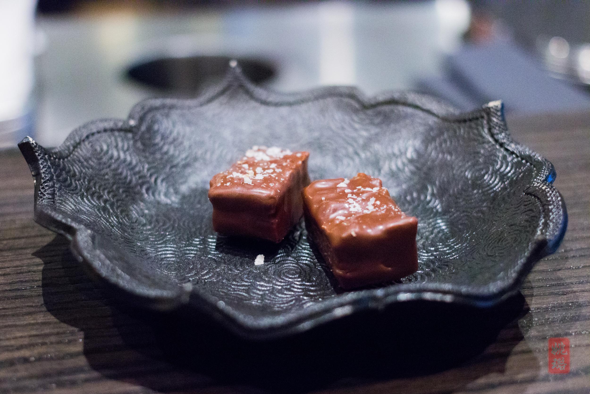 Foie gras - black walnuts, pretzel, marshmallow