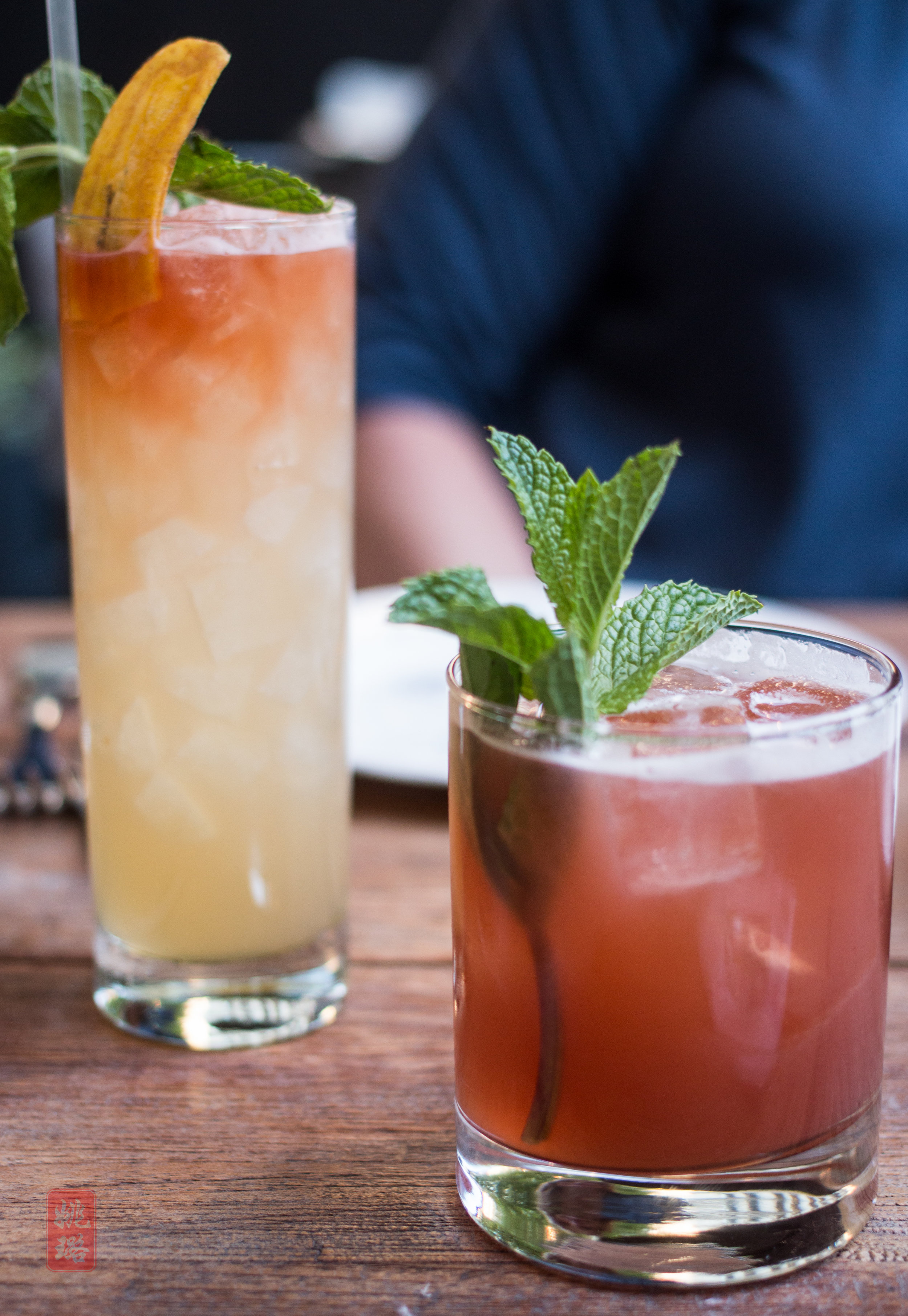 - Start with a refreshing cocktail that transports you to the tropics!