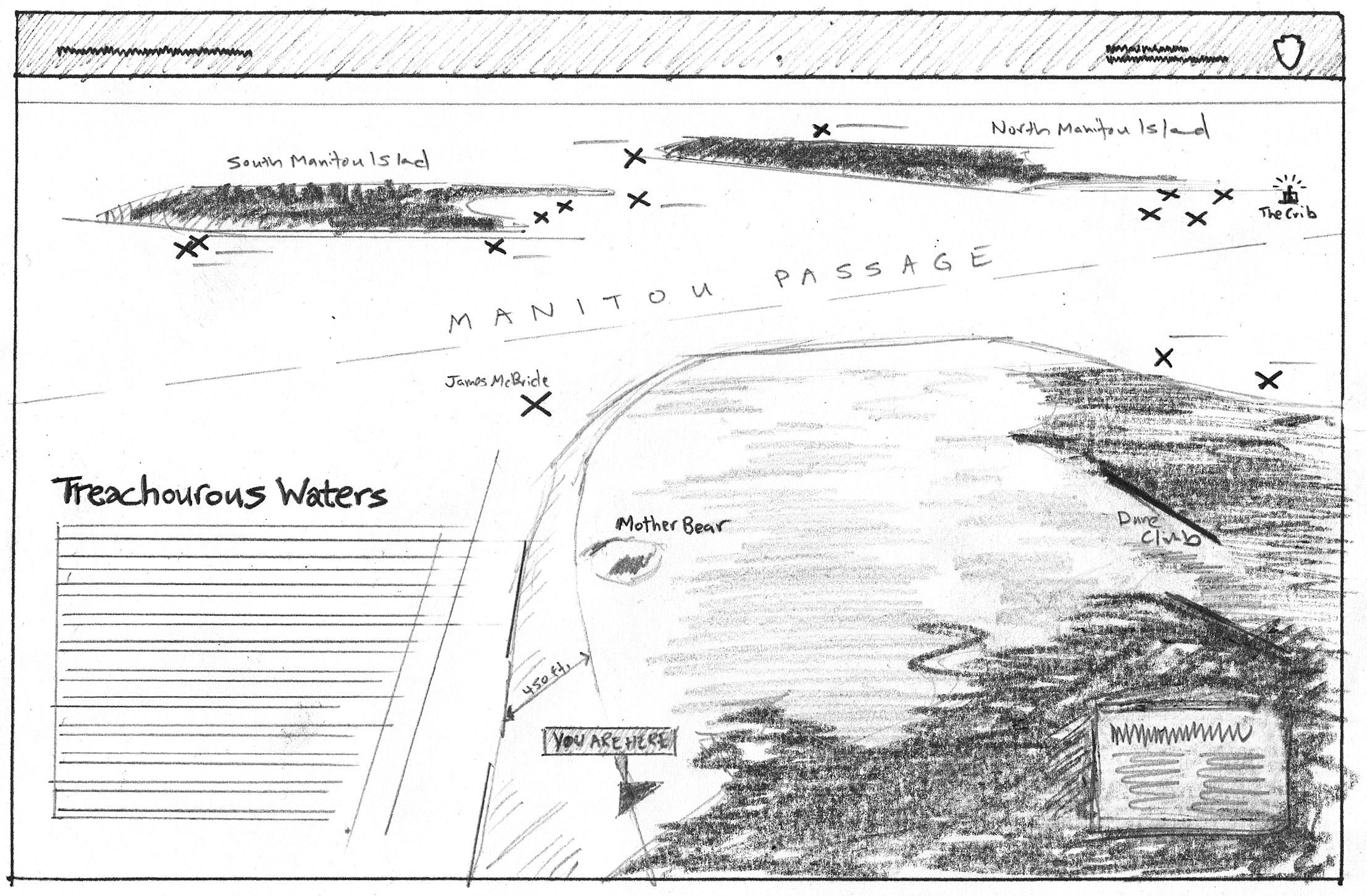 Wayside #8: Lake Michigan Overlook