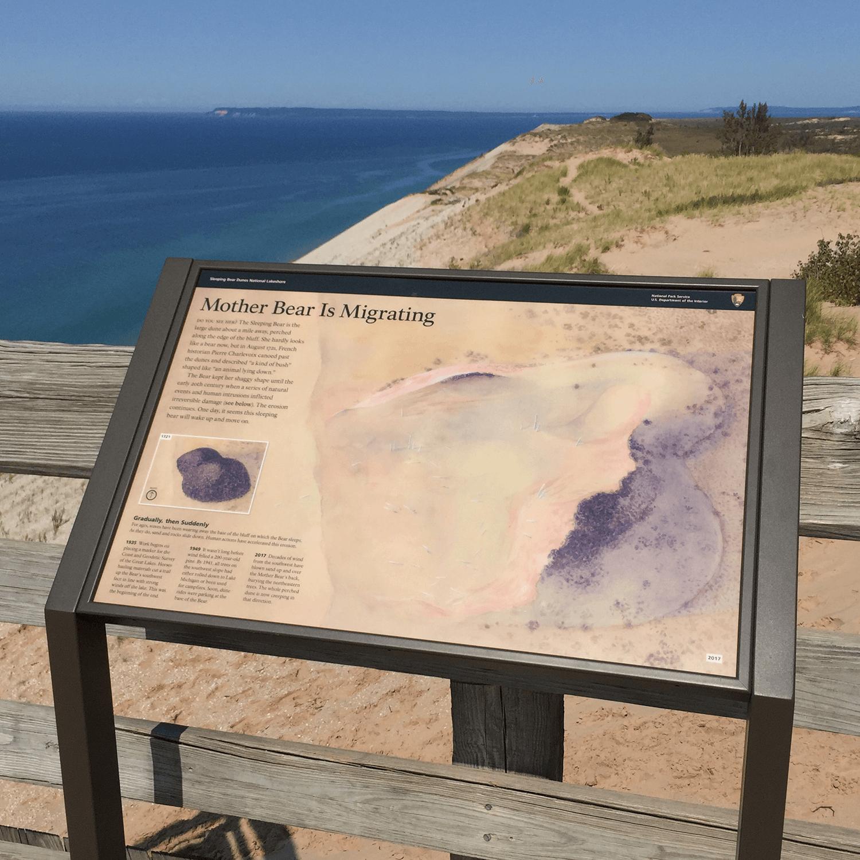 Wayside #10: Lake Michigan Overlook