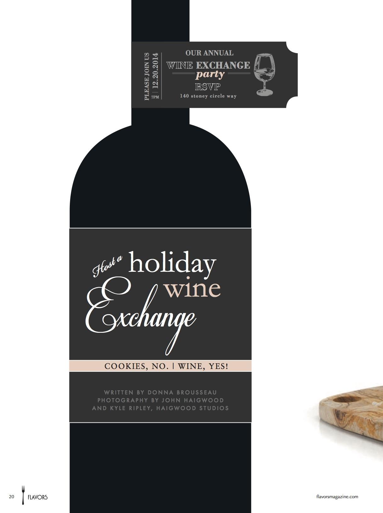 Holiday Wine Exchange