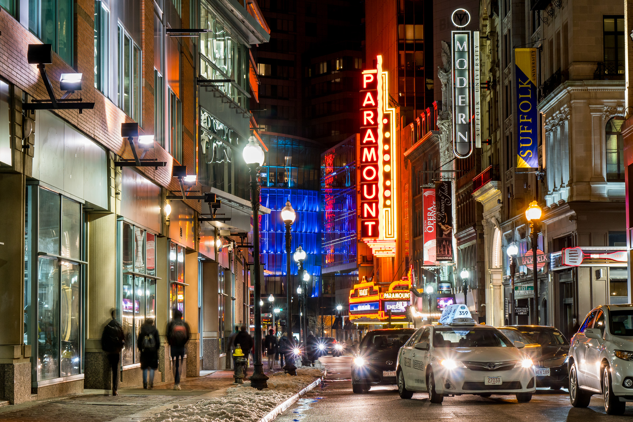 Theater District - Boston, MA