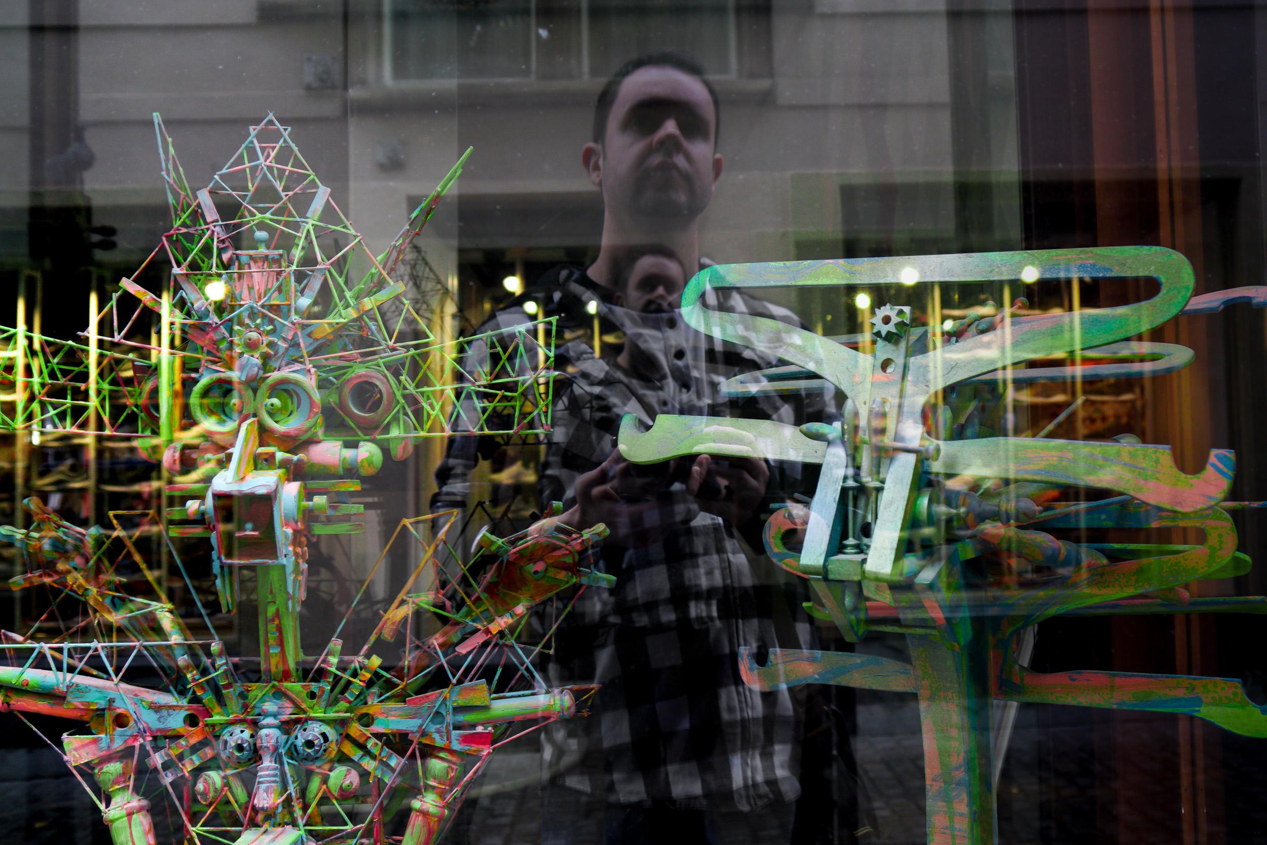 Self Portrait - Zurich