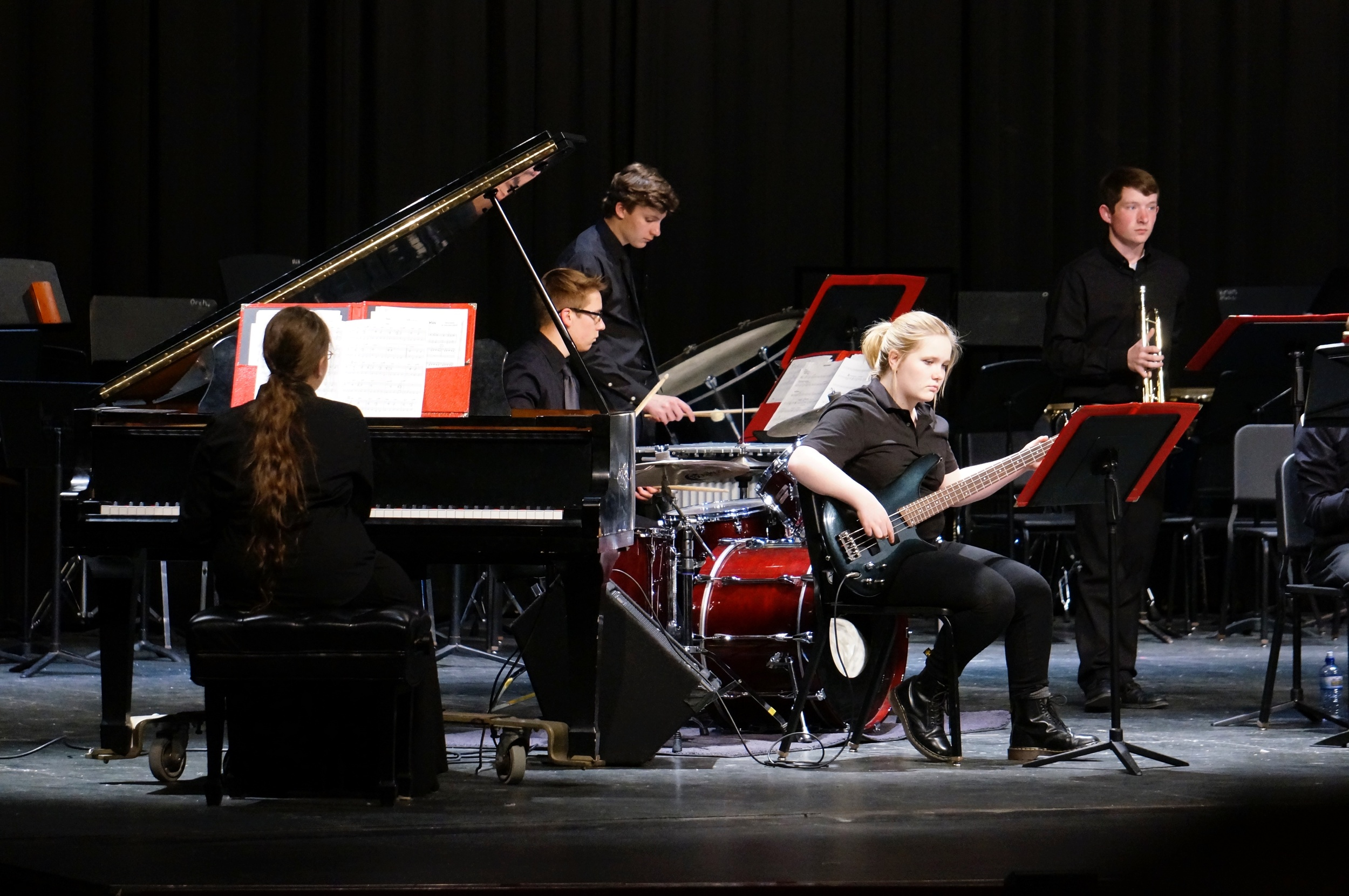 Jazz Ensemble II, director Nate Weiss