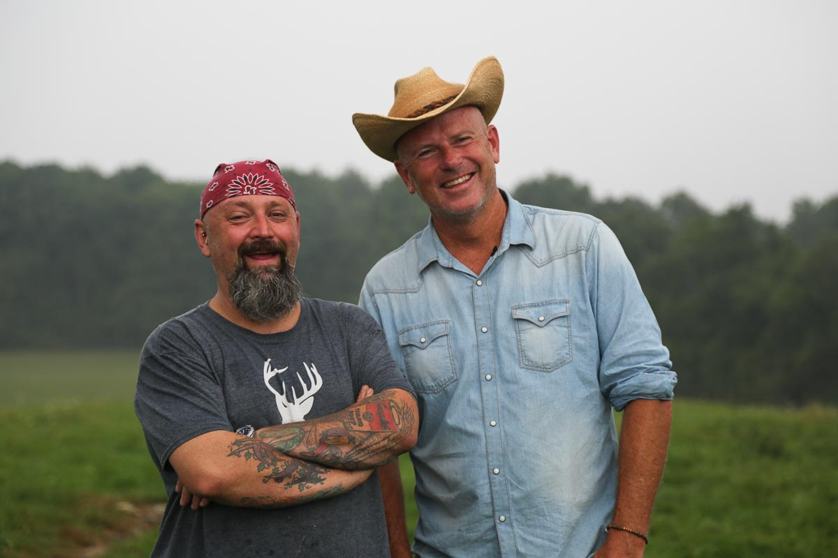 Outstanding in the Field | Chef Brian Alberg + Jim Denevan