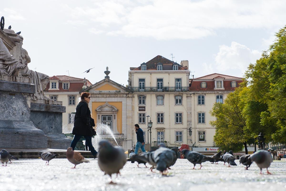 Lisbon | Rossio Square