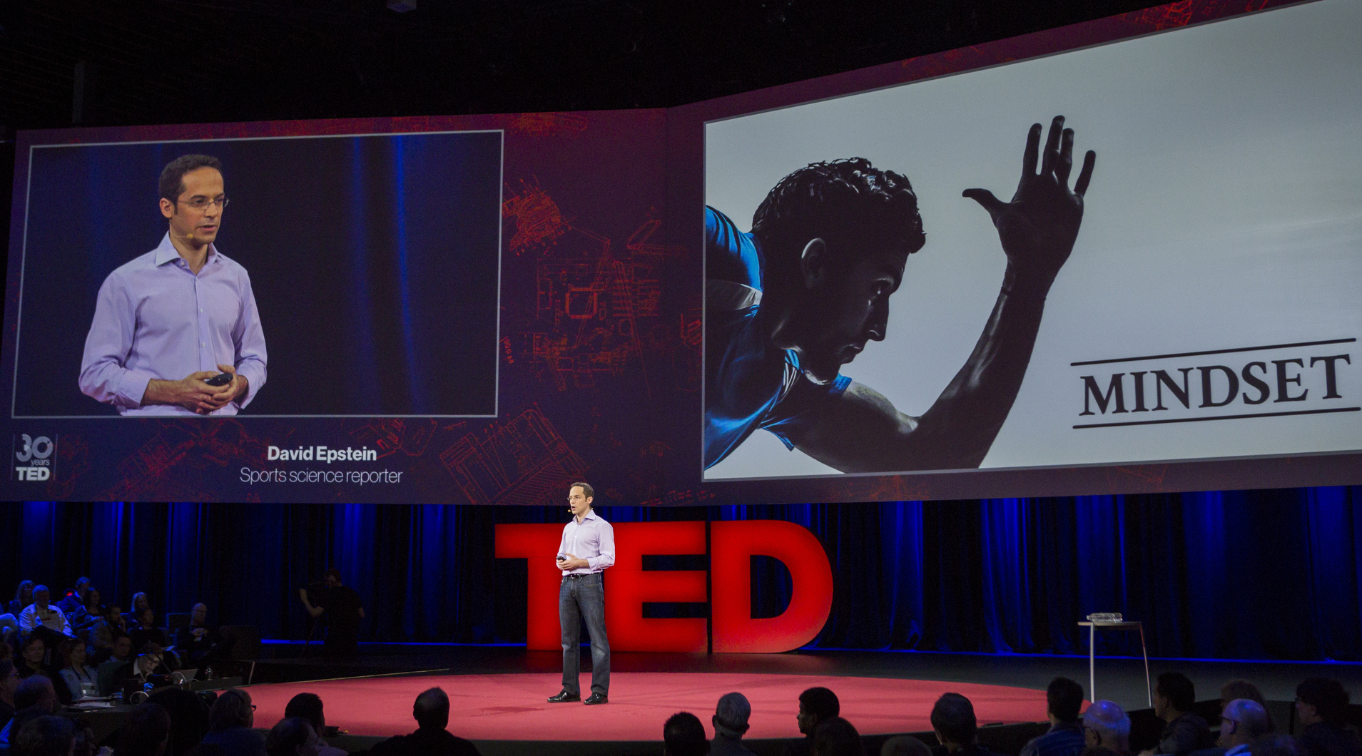 David Epstein at TED2014. Photo: Bret Hartman.