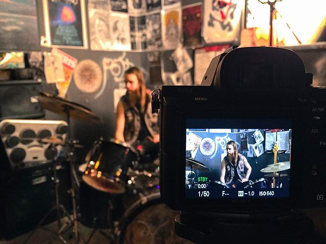 Talk is cheap #documentary #film #sony #a7s #sonya7s  #4k #metal #rock #drums #vancouverisawesome #music #bc #vancity #narcity #eastvan #sun #pabst #poster #lightroom #edits #filmmaking#lens#