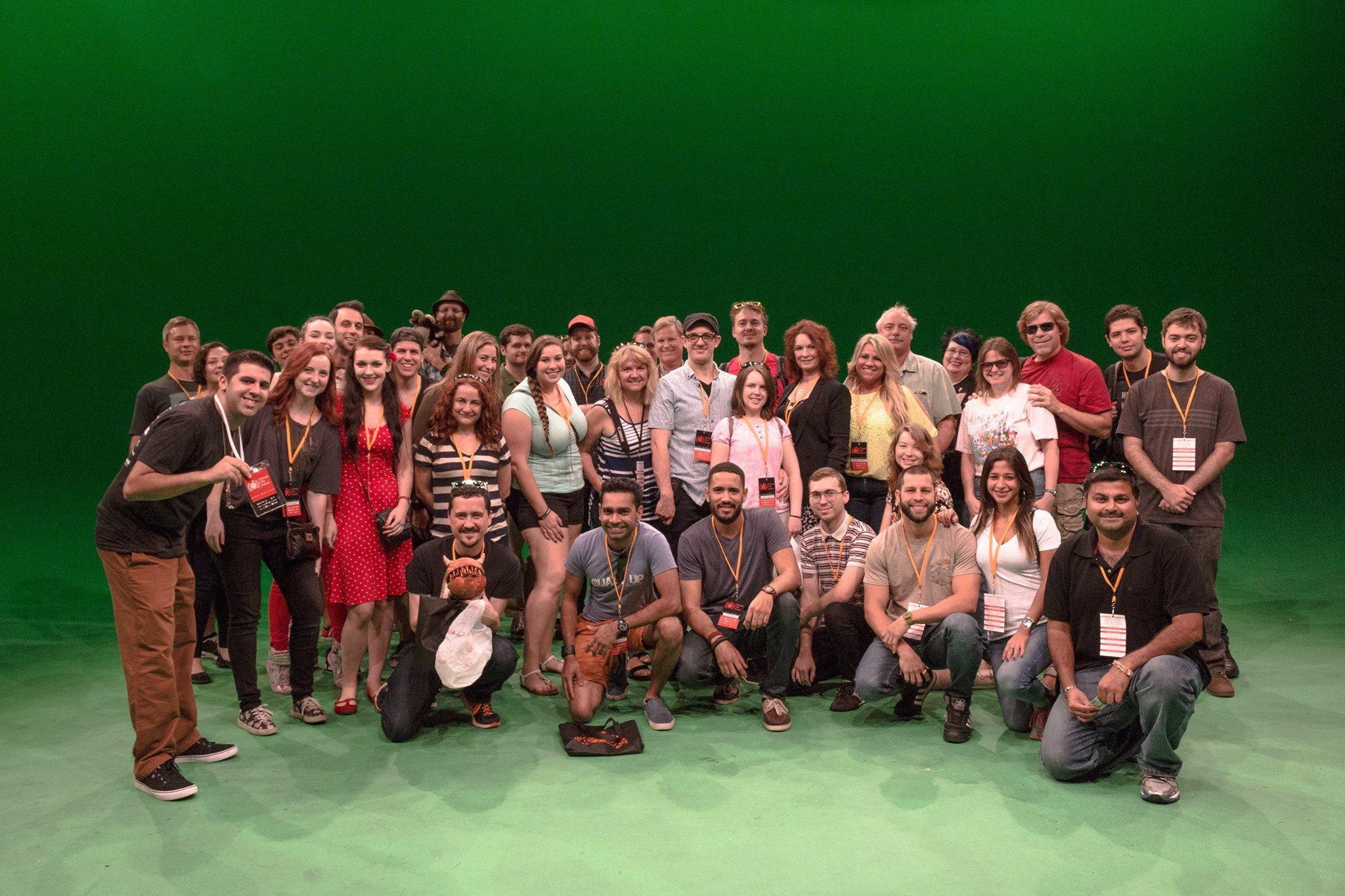 Lauren with Filmmakers at Universal Backlot.jpg