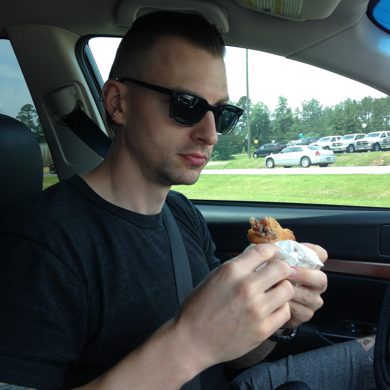 Nick & A Meat Pie