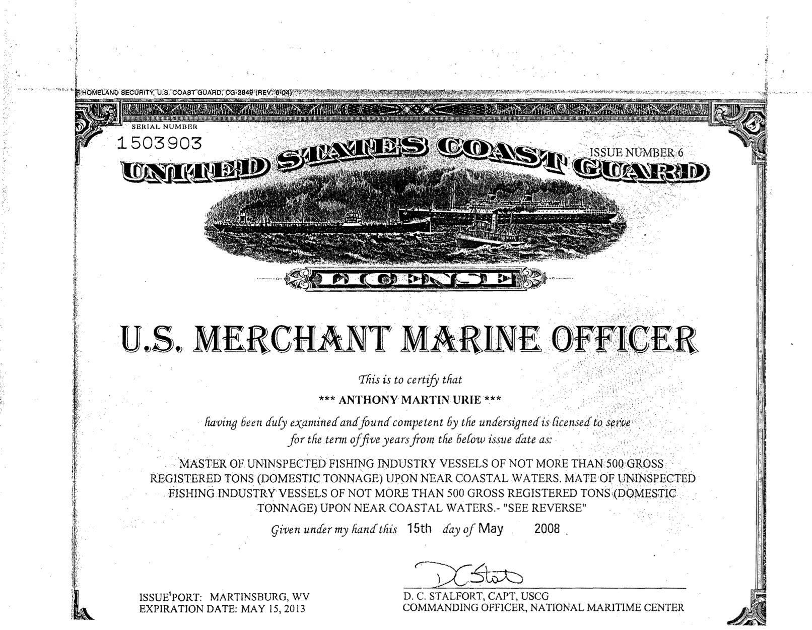 US Coast Guard License.jpg