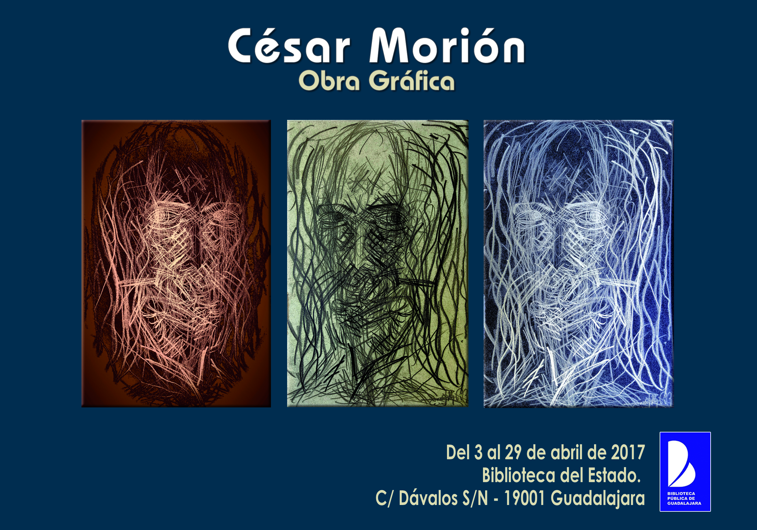 Solo exhibition in Guadalajara, Spain; I add bellow the publication that Guadalajara's Central Library issued, which provides and article and further information on the show: