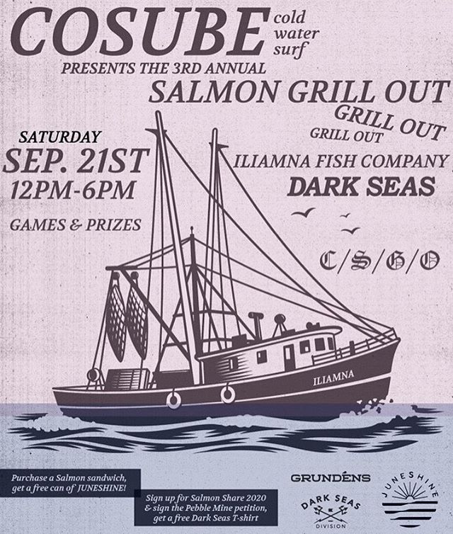 ☝️Check the deets. See you all Saturday!  @darkseas @darkseasladies @iliamnafishco @grundens @juneshineco