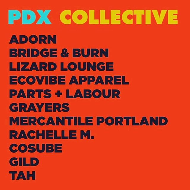Come see us and 10 of Portland's finest boutiques this Saturday 9/21 and Sunday 9/22 for one GIANT sale at The Cleaners @acehotelportland Sat 10am-5pm & Sun 11am-5pm  _ _ #shopsmall #pdxcollectivesale #pdxsale #acehotelportland  @pdxcollectivesale  @shopadorn @bridgeandburn @lizardloungepdx @ecovibestyle @partslabour @grayers @mercantileportland @rustic_house @gildpdx @tah_life