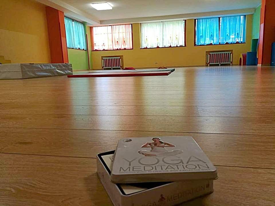 La sala della scuola materna di almè dove si svolge il progetto