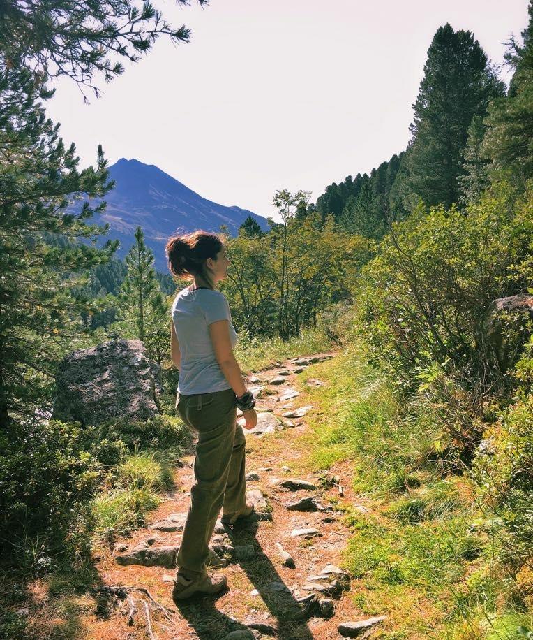 Meditazione Mindfulness in montagna