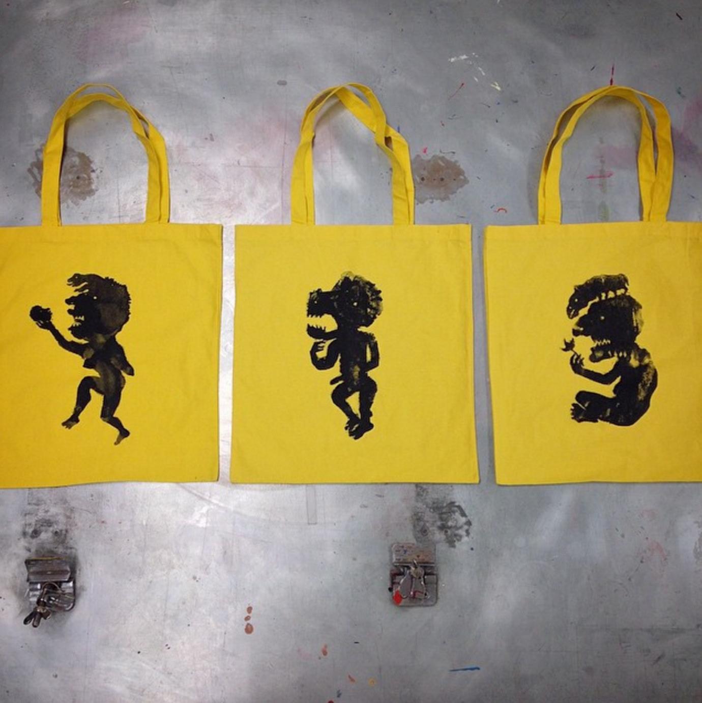 Screen-printed Bags