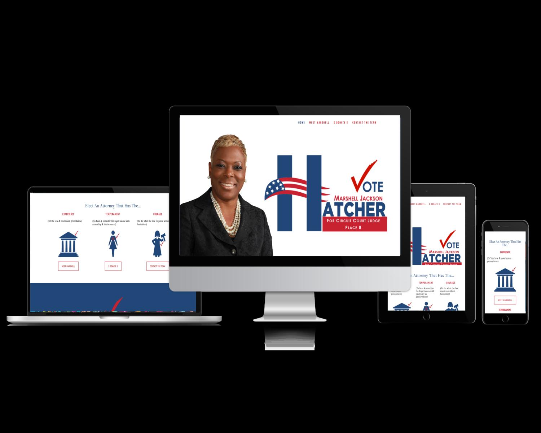 Marshell Jackson Hatcher (Campaign website)