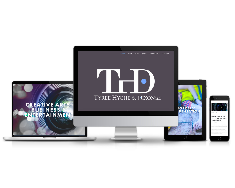 THD Legal (Law Website)