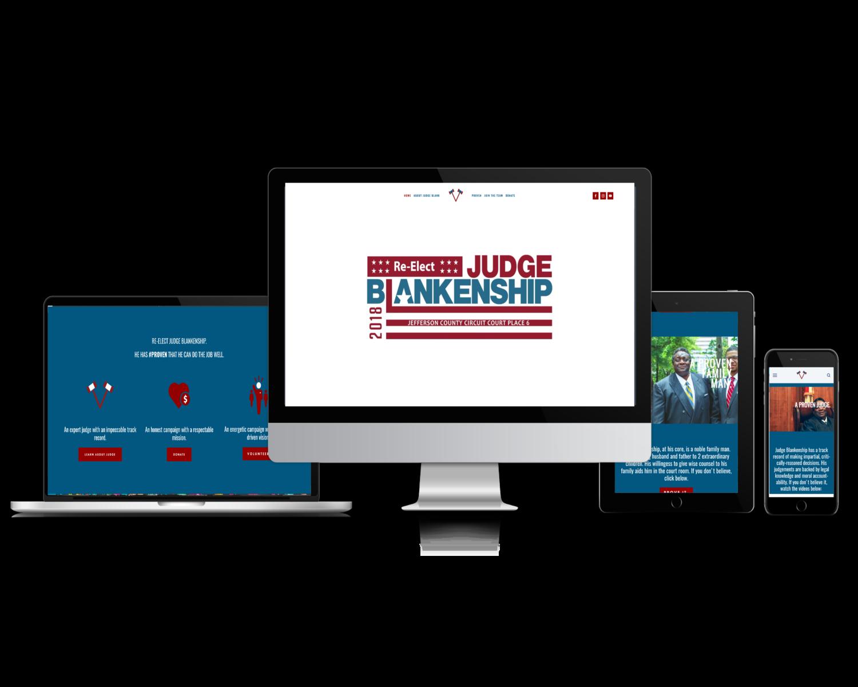 Judge Blank (Campaign Website)
