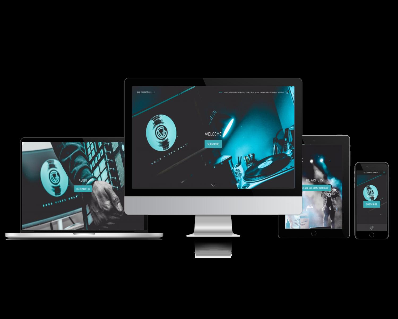 GVO Pro LLC (Indie Record Label Website)