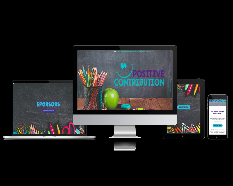 Positive Contribution (Non-Profit website)