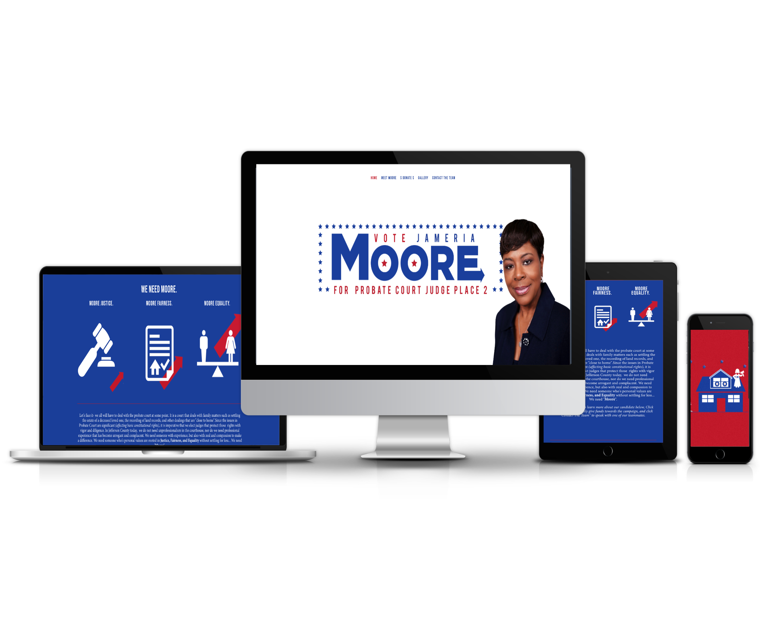 Attorney Jameria Moore (Candidate Website)