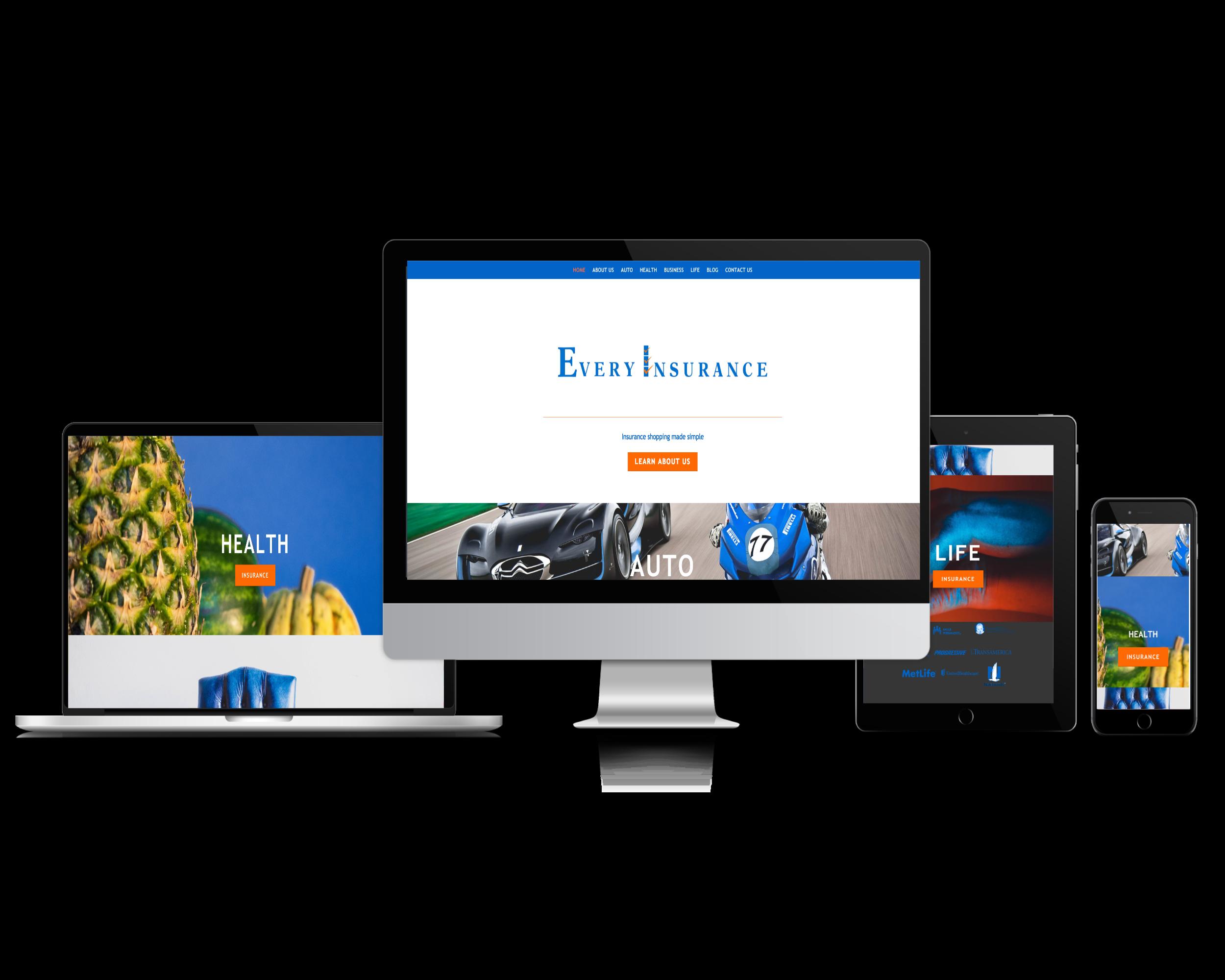 Every Insurance (Insurance Website)