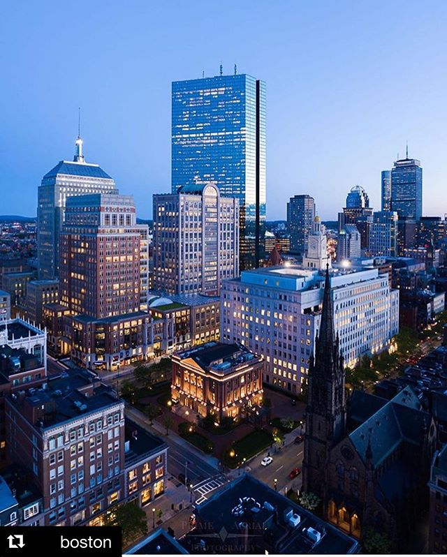 #Repost @boston with @get_repost ・・・ Bring on the weekend🎉 Beautiful photo by @primeaerialphoto