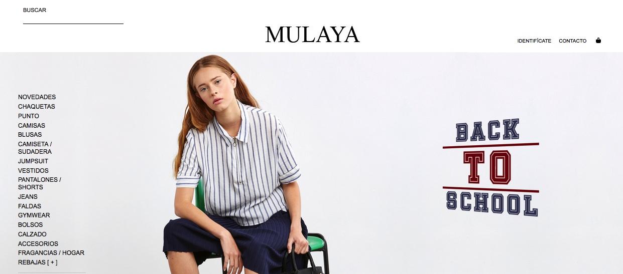 Web www.mulaya.com/es