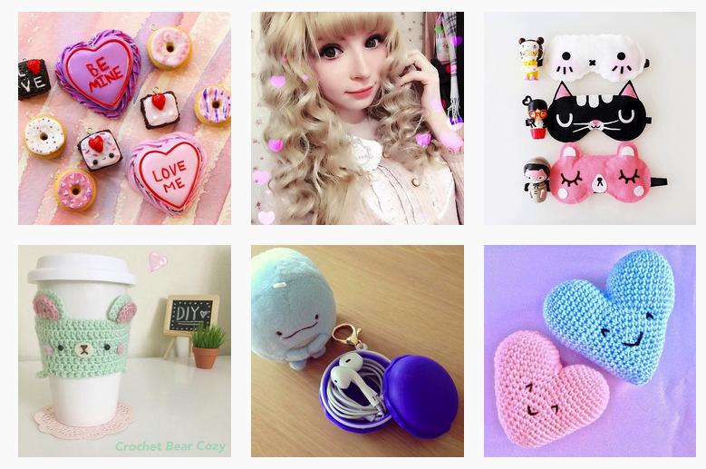 Fotos procedentes de la  cuenta de Instagram de Kawaii Box