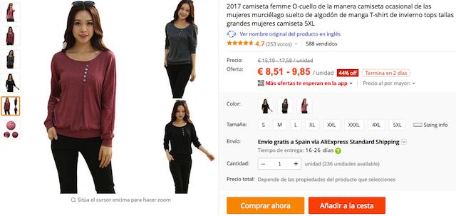 cbe40cc205ee Ropa china y tallas grandes — Fashionableasia