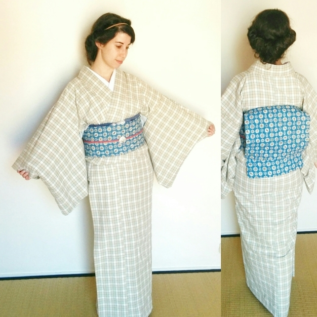 Distintas perspectivas de un kimono