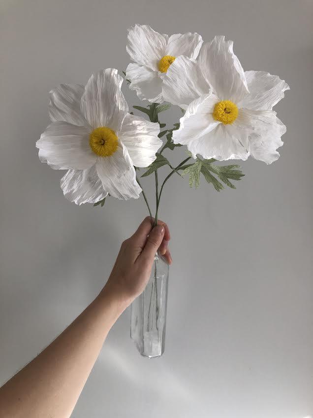 California Tree Poppy -  Tiffanie Turner - Fine Art of Paper Flowers