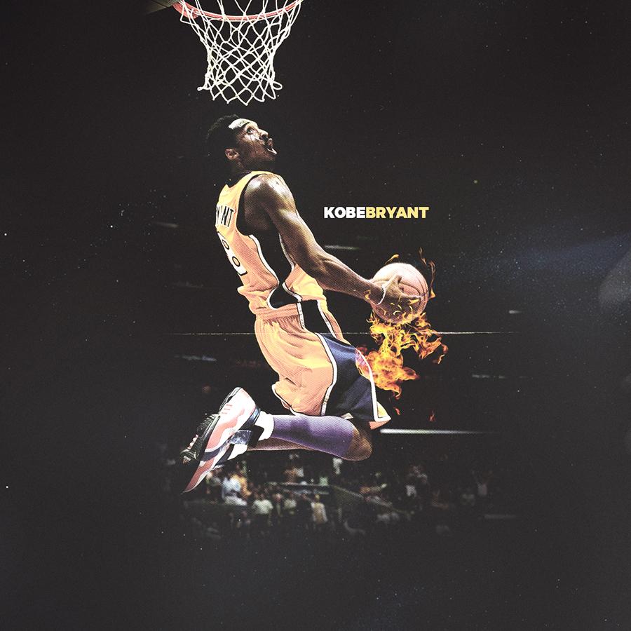 Kobe Bryant   Download:  Mobile Wallpaper  / Desktop Wallpaper