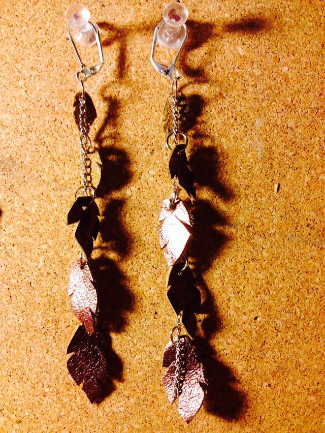 Pied Pepper Earrings!  Message me if you're interested.