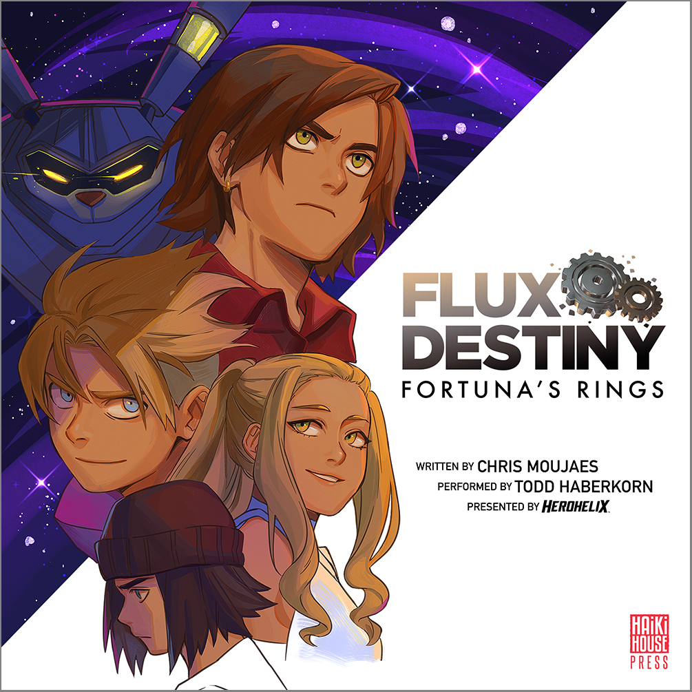 The Highly-Acclaimed Novel is Now an Audiobook! - Legendary voice actor Todd Haberkorn delivers an unforgettable performance in a new Flux Destiny audiobook!