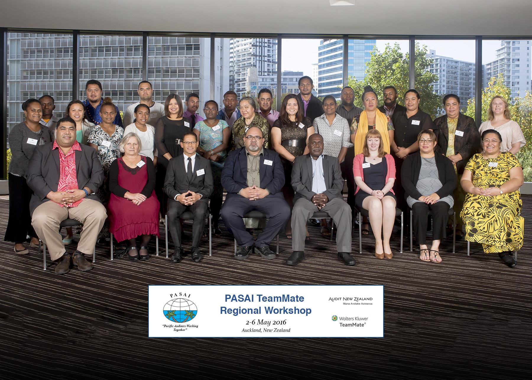 Photo 1: PASAI TeamMate® forum participants in Auckland