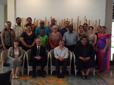 The workshop facilitators, advisors and participants
