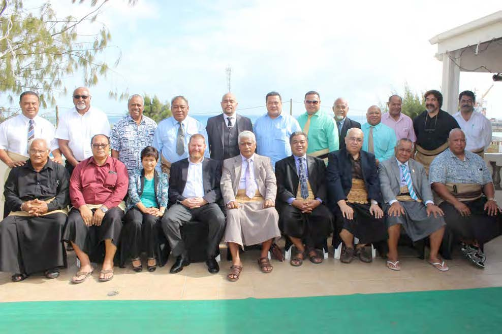 Participants of the Accountability and Transparency workshop held in Nuku'alofa 19–21 January 2016