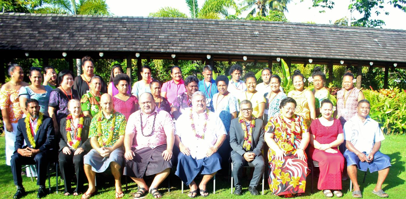 The Pacific regional program on compliance audit of public procurement - Review Meeting participants