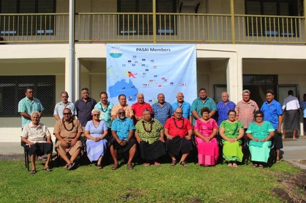Workshop Participants from Parliamentary Committee members of Samoa, the Controller and Auditor-General of Samoa and the PASAI Advocacy team.