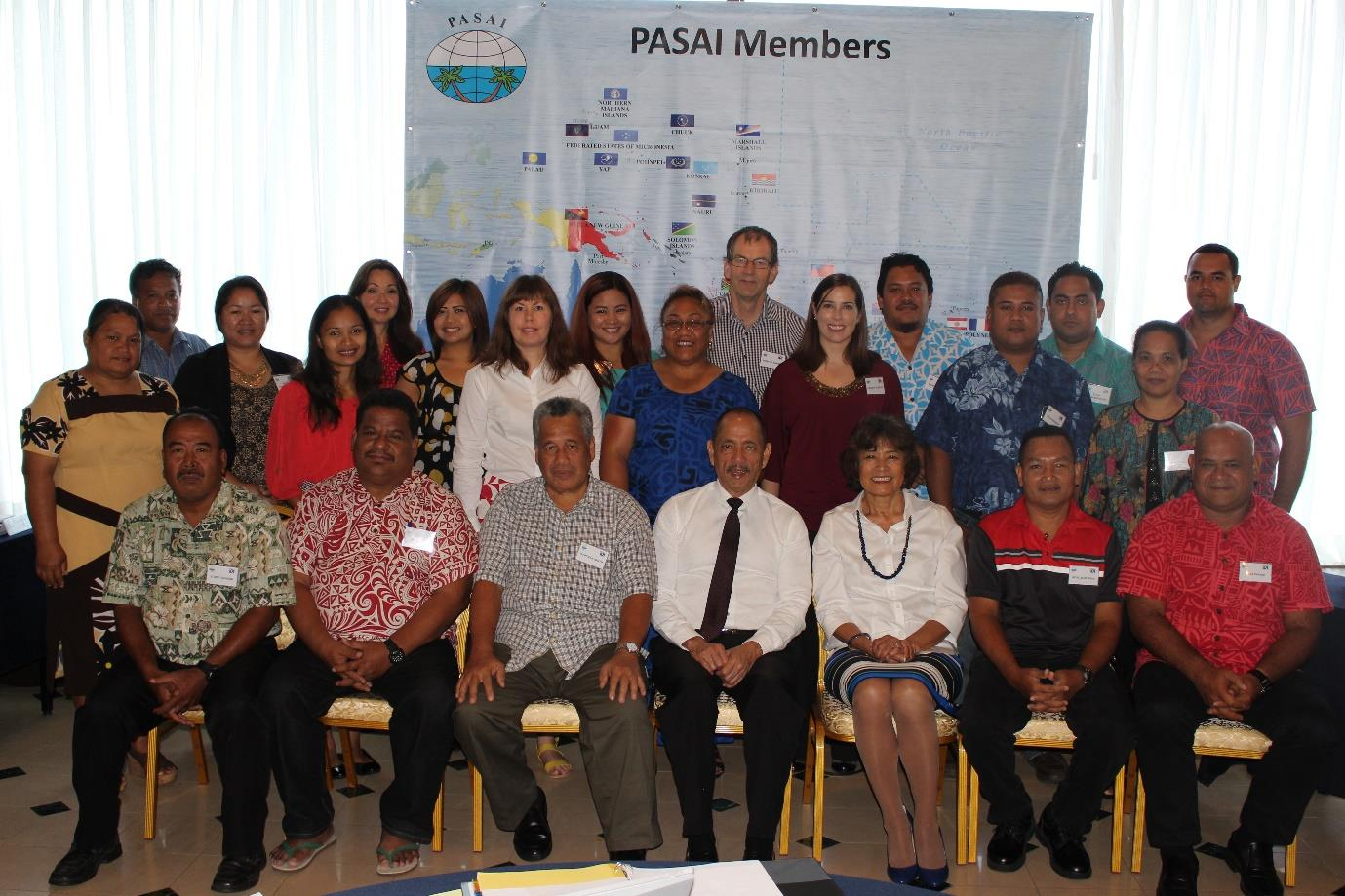 Image of the workshop participants and coordinators