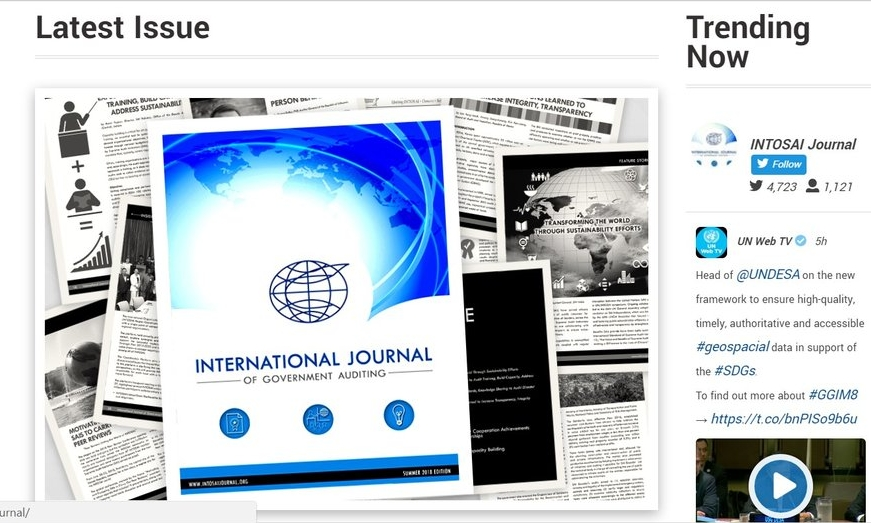 INTOSAI Journal Summer Edition