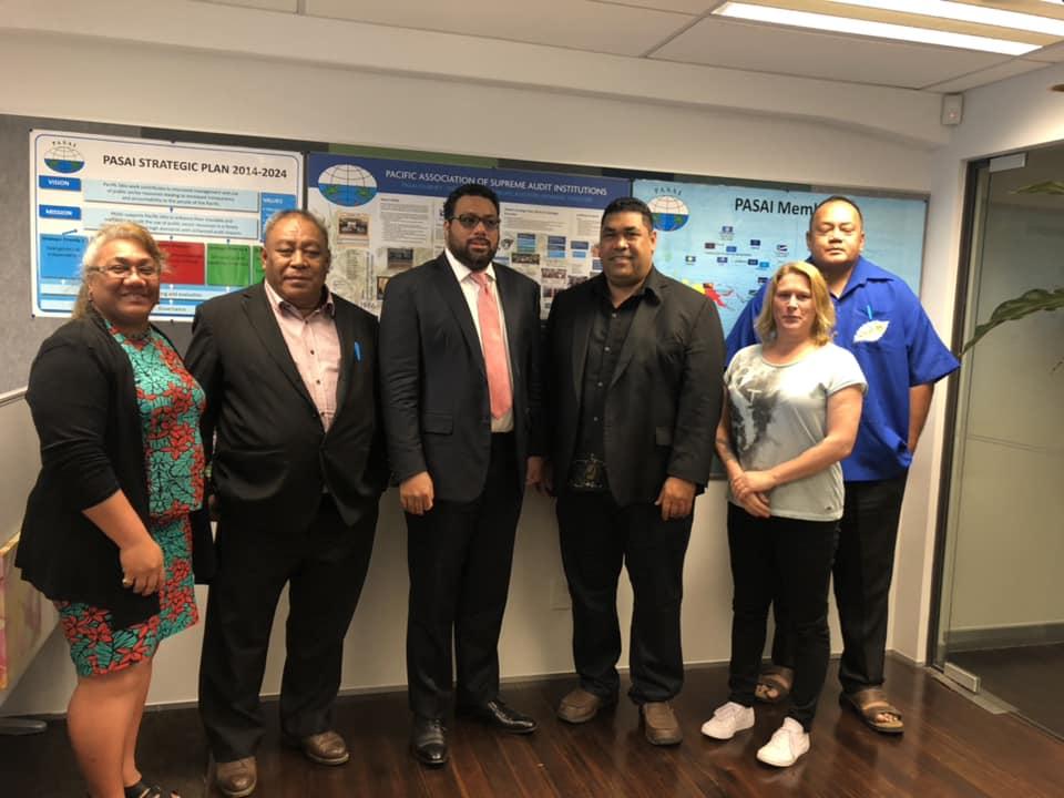 Tongan Parliament works with PASAI's Secretariat