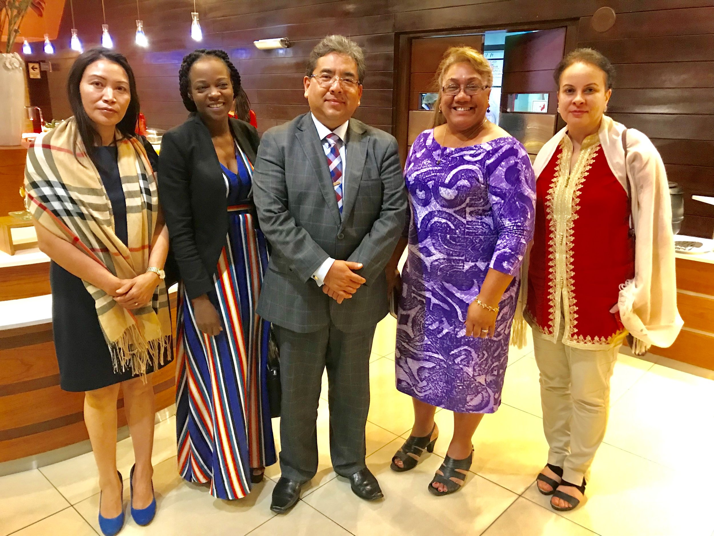 With the Comptroller General of SAI Peru