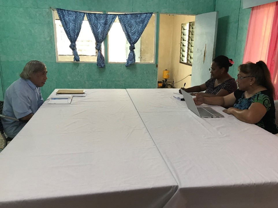 Kirabiti SAI PMF assessment team meeting with Chairman of the Audit Board.jpg
