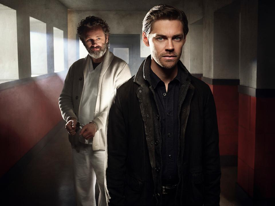 """Photo: Malcom Bright (Tom Payne) & Dr. Martin """"The Surgeon"""" Whitly (Martin Sheen). Photo Credit: Forbes"""